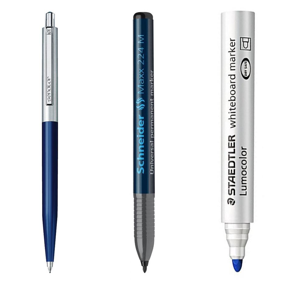 Химикалки и маркери
